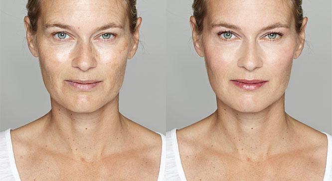 Antes y después: cuidado de la piel